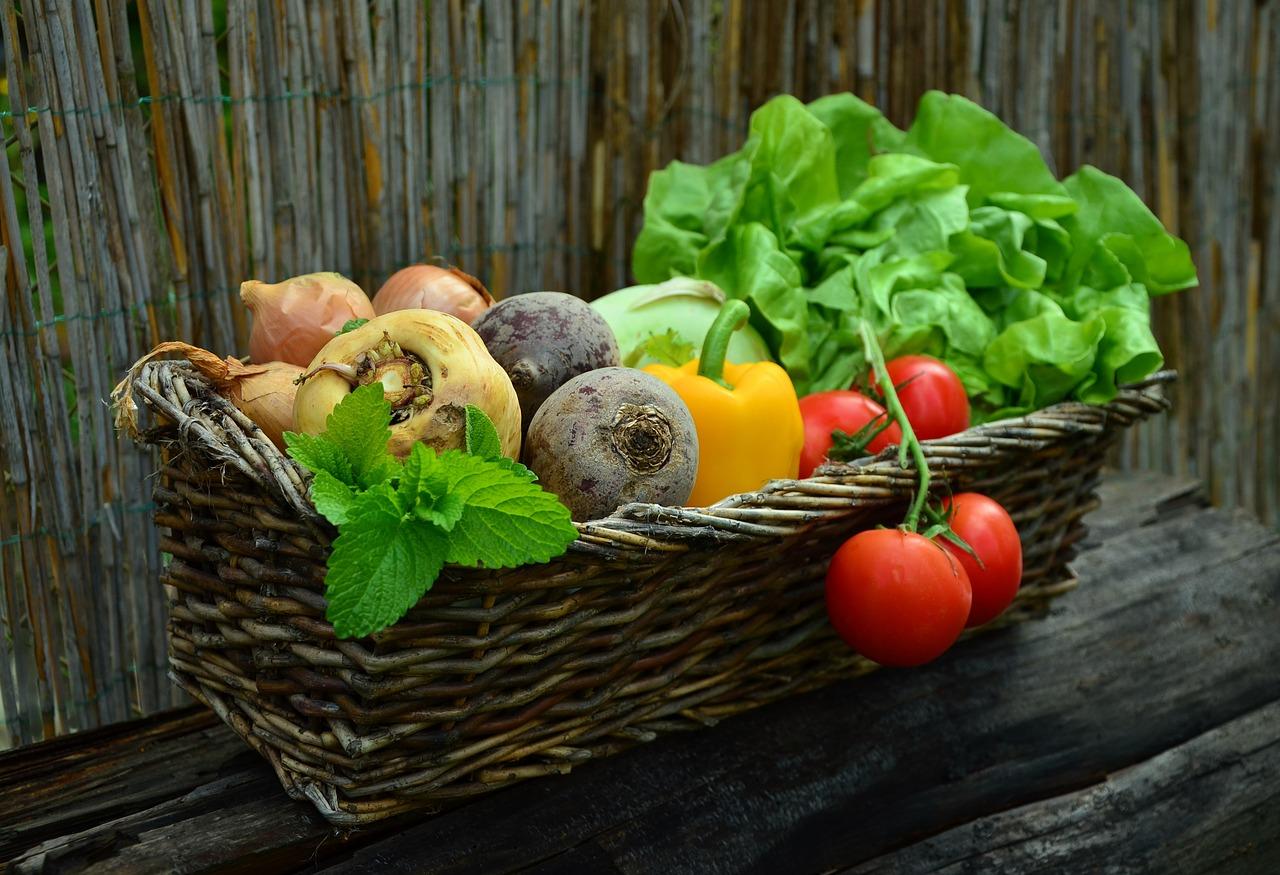 Vegetables, fiber