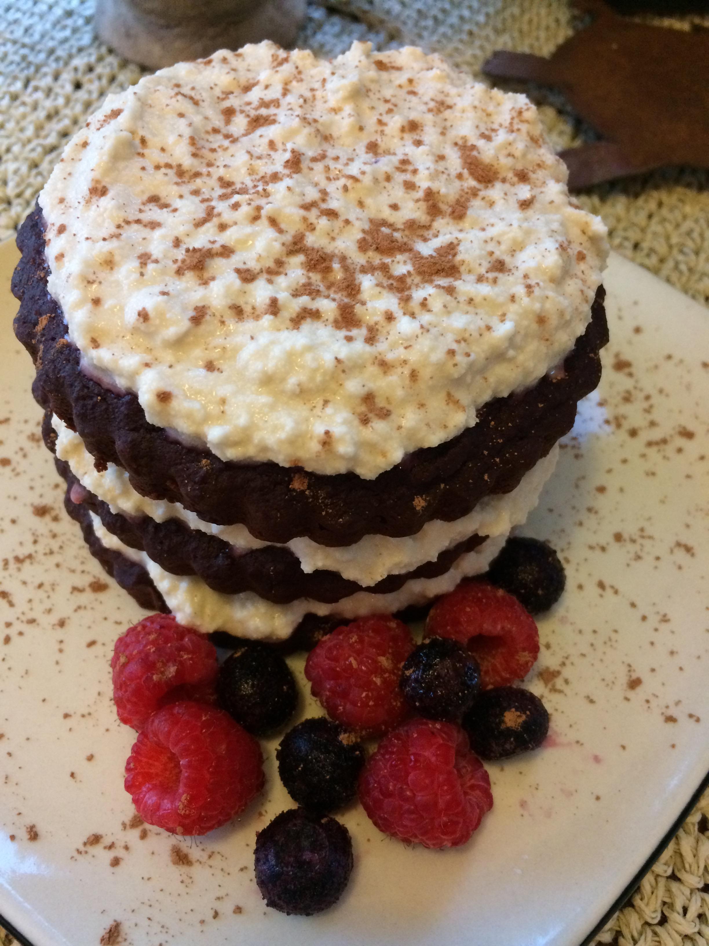 Beet Cake Coconut Cashew