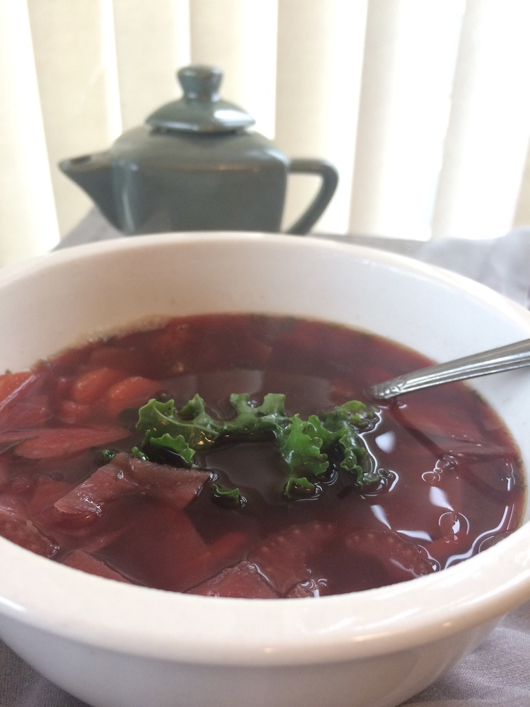 Nana's borscht
